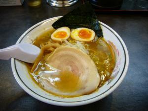 ハルピンラーメン+にんにく卵